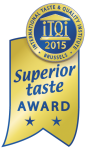 Superior Taste Award 2015 for Luna Solai-pumpkin pressed cold oil