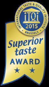 Superior Taste Award 2015 for Luna Solai-pumpkin pressed cold oil