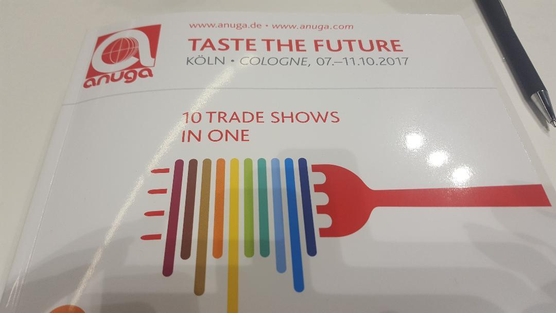 Luna Solai cold pressed oils – the first attendance in ANUGA – TASTE THE FUTURE