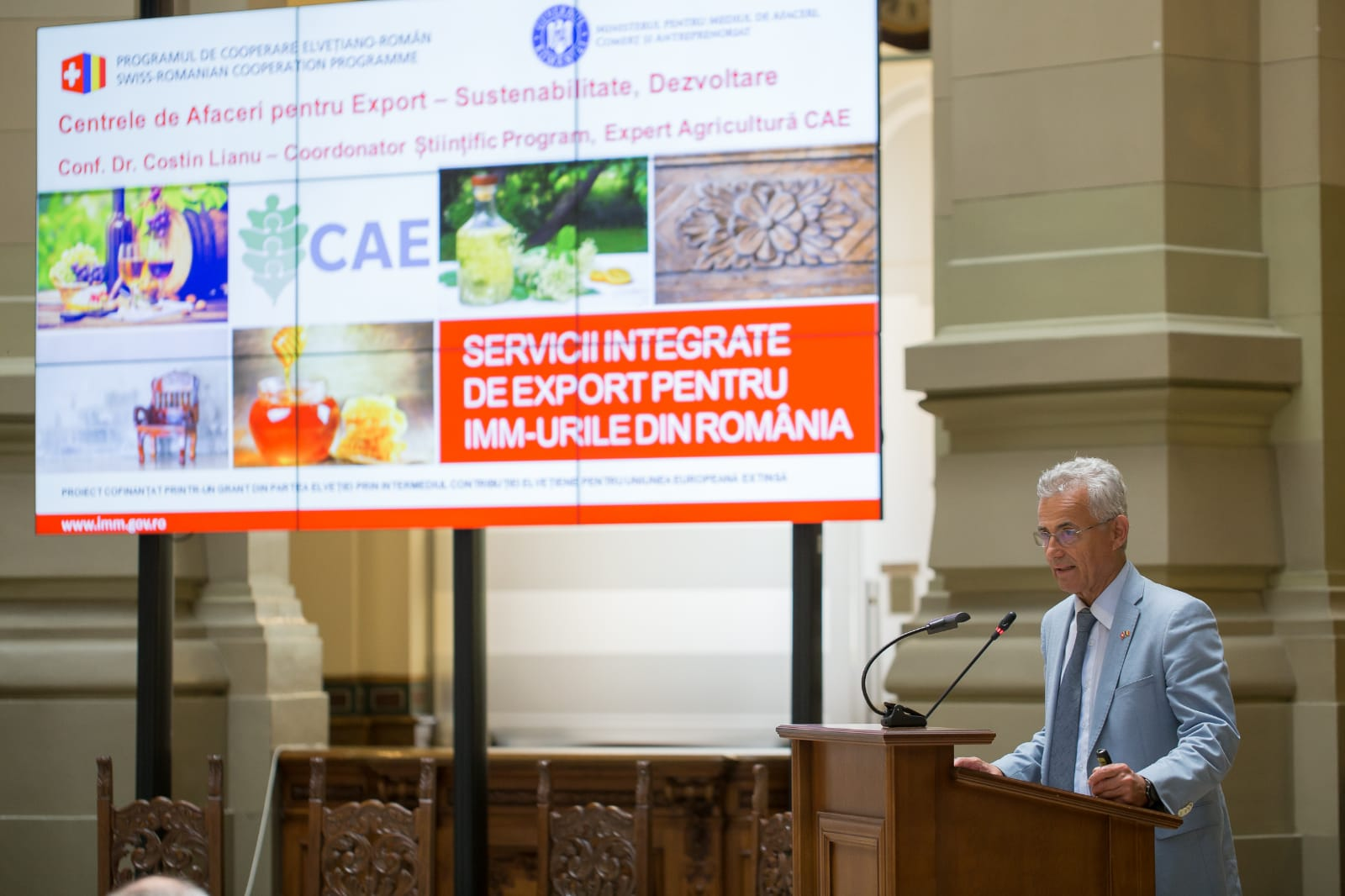 """The """"Export Integrated Services for Romanian SMEs"""" project"""