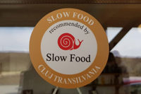 Recognition of belonging to Slow Food Cluj Transylvania community, 12th of March