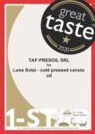 certificat-great taste-2020-ulei-de-rapita
